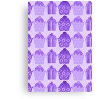 Purple Cakes Canvas Print