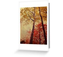 Autumn Couple Greeting Card