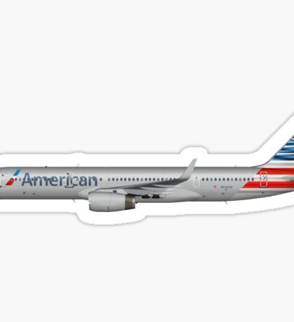 American Airlines plane Sticker
