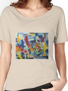 Koi Pond Japan Women's Relaxed Fit T-Shirt