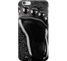 black foot iPhone Case/Skin