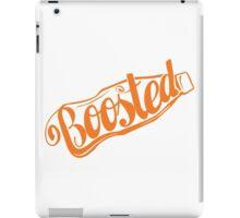 2 Litre Boosted Popbottle - ORANGE iPad Case/Skin