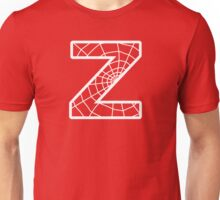 Spiderman Z letter Unisex T-Shirt