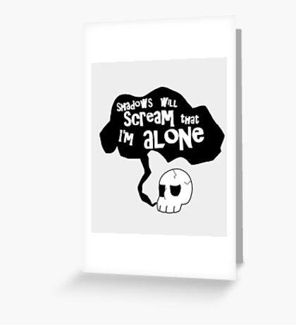 Migraine Greeting Card