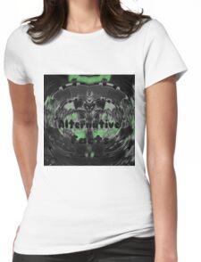 Alternative Facts, dark green Womens Fitted T-Shirt