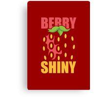 Berry Shiny Canvas Print