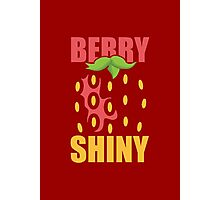 Berry Shiny Photographic Print
