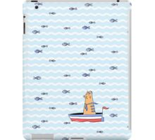 Salty sailor cat. iPad Case/Skin