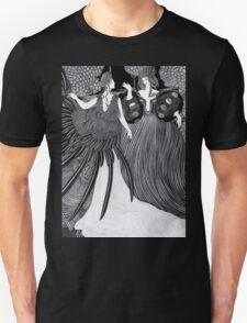 Girl dressed as a bird  Unisex T-Shirt