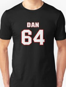 NFL Player Dan France sixtyfour 64 T-Shirt