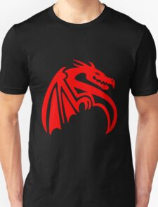 Abstract Dragon Design Unisex T-Shirt