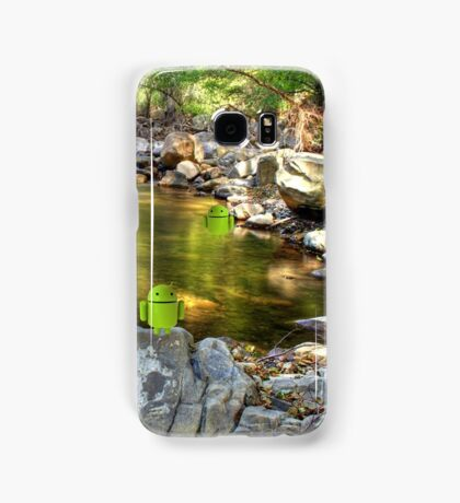 Androids Playing Samsung Galaxy Case/Skin
