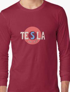 Tesla Deathrays  Long Sleeve T-Shirt