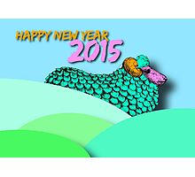Landscape Sheep #1 - Chinese New Year 2015 Photographic Print