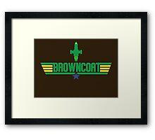 Browncoat Top Gun Framed Print