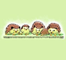 Hedgehog Family by alice9