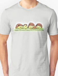 Hedgehog Family Unisex T-Shirt