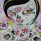 Day of the Dead - Lady Calavera by Concetta Kilmer