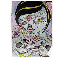 Day of the Dead - Lady Calavera Poster