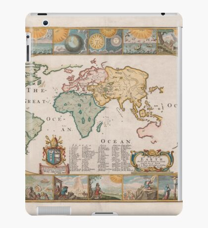 World Map 1681 iPad Case/Skin