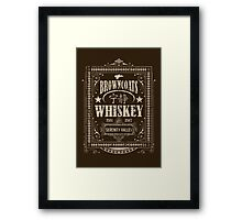 Browncoats Whiskey Framed Print