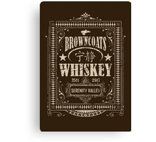Browncoats Whiskey Canvas Print