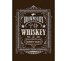 Browncoats Whiskey Photographic Print