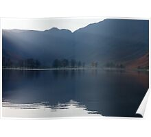 Buttermere Rays Poster