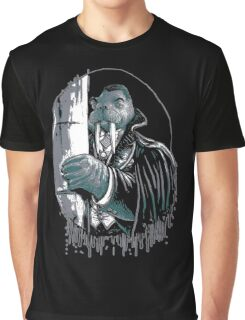 The Walrus Count Vampire of the Sea Graphic T-Shirt