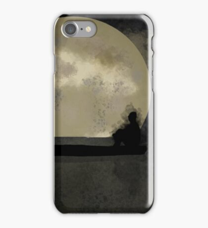 Lonely Night iPhone Case/Skin