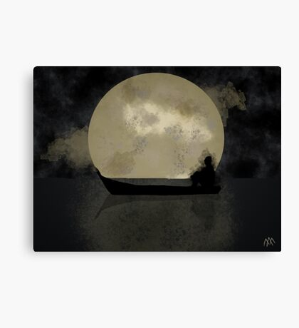 Lonely Night Canvas Print
