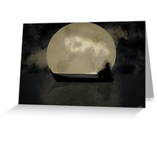 Lonely Night Greeting Card