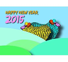Landscape Sheeps #3 - Chinese New Year 2015 Photographic Print