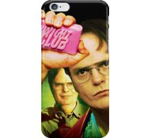 Dwight Club iPhone Case/Skin