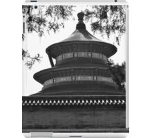 Temple in B/W iPad Case/Skin