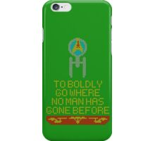 Stitch Trek v2 iPhone Case/Skin