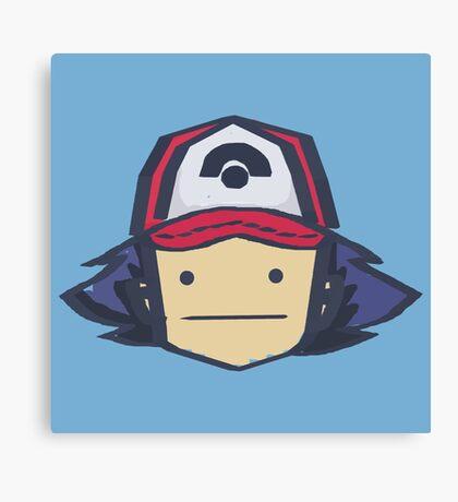 Ash - Pokemon Canvas Print