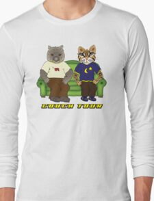 Wombat Ocelot Couch Tour Long Sleeve T-Shirt