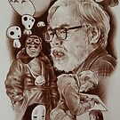 miyazaki tribute by meatwork