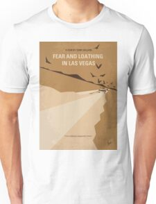 No293 My Fear and loathing Las vegas minimal movie poster Unisex T-Shirt
