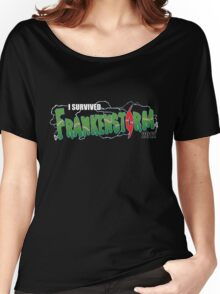 I Survived Frankenstorm Women's Relaxed Fit T-Shirt