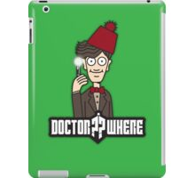 Doctor Where iPad Case/Skin