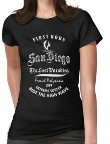 San Diego  Womens Fitted T-Shirt