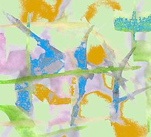 Watercolor Abstraction by Almdrs