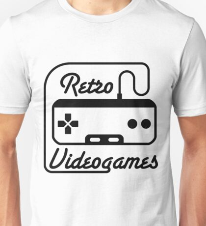 Retro Videogames Funny Video Game Shirts Unisex T-Shirt