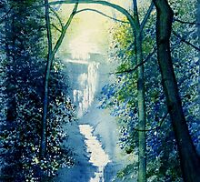 Chinese Waterfall by Glenn Marshall