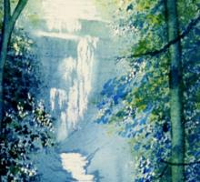 Chinese Waterfall Sticker