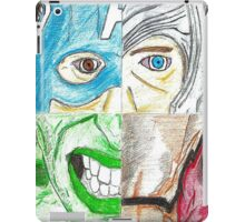 Avengers All 4 One (poster effect) iPad Case/Skin