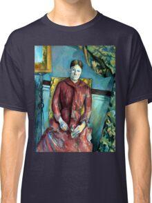 Paul Madame Cézanne in a Red Dress Classic T-Shirt