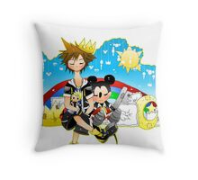 Daytime Dual Throw Pillow